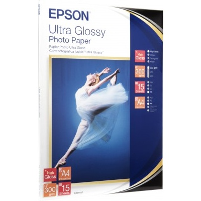 EPSON Paper A4 Ultra Glossy Photo (15 listů), 300g/m2