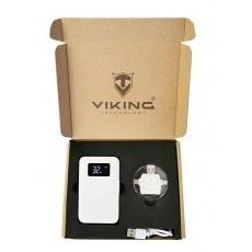 Viking dárková sada - power banka go10 + čtečka 4v1, bílá