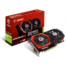 MSI VGA NVIDIA GeForce GTX 1050 Ti GAMING X 4G, GTX1050, GDDR5 4GB