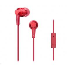 Sluchátka do uší-červená-SE-C3T-R