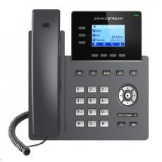 """Grandstream GRP2603 [VoIP telefon - 2.48"""" 132 x 64 grafický,  6x SIP účet, 2x RJ45 10/100/1000 Mbps]"""