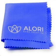 Alori hadřík z mikrovlákna 14 x 14 cm, modrá