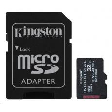 Kingston 32GB microSDHC Industrial C10 A1 pSLC Card + SD Adapter