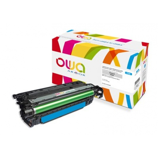 OWA Armor toner pro HP Color Laserjet Ese M651, 15000 Stran, CF331A, modrá/cyan