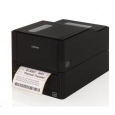 Citizen TT tiskárna etiket CL-E321 LAN, USB, Serial, 203dpi, řezačka, Black