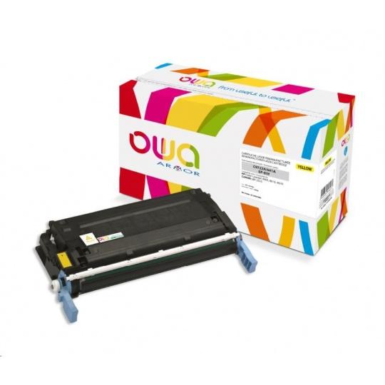 OWA Armor toner pro HP Color Laserjet 4600, 4610, 4650, 8000 Stran, C9722A, žlutá/yellow