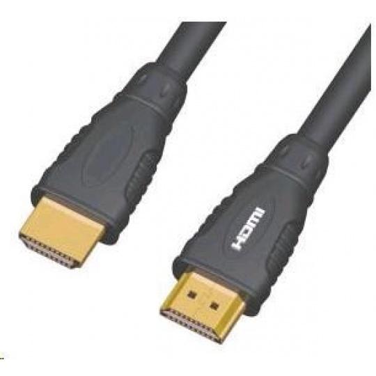 PREMIUMCORD Kabel HDMI - HDMI 3m (v1.3, zlacené kontakty, stíněný)