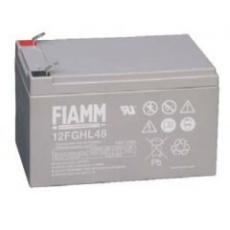Baterie - Fiamm 12 FGHL 48 (12V/12Ah - Faston 250), životnost 10let