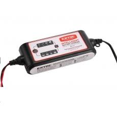 Extol Premium autonabíječka 9stupňová, řízená mikroprocesorem, 12/6V, 4A 8897300