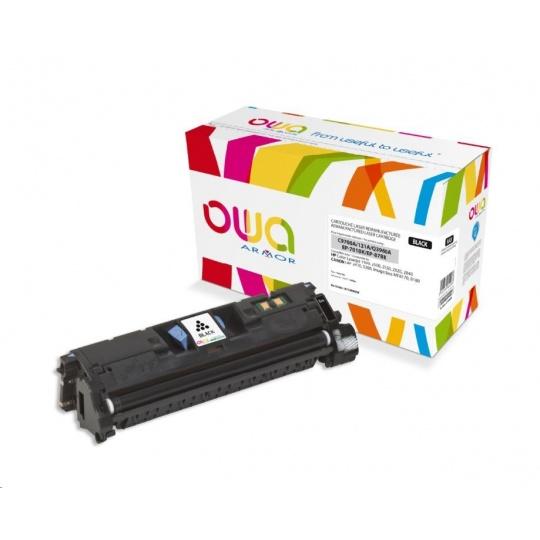 OWA Armor toner pro HP Color Laserjet 1500, 2500, 2550, 2820, 2840, 5000 Stran, C9700A, černá/black