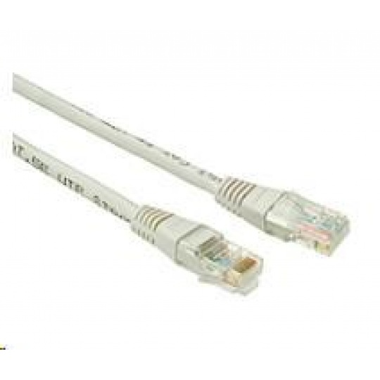 Solarix Patch kabel CAT5E UTP PVC 2m šedý non-snag-proof C5E-155GY-2MB