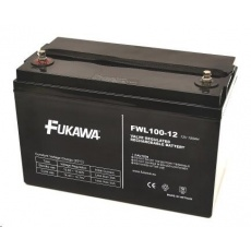 Baterie - FUKAWA FWL 100-12 (12V/100Ah - M6), životnost 10let