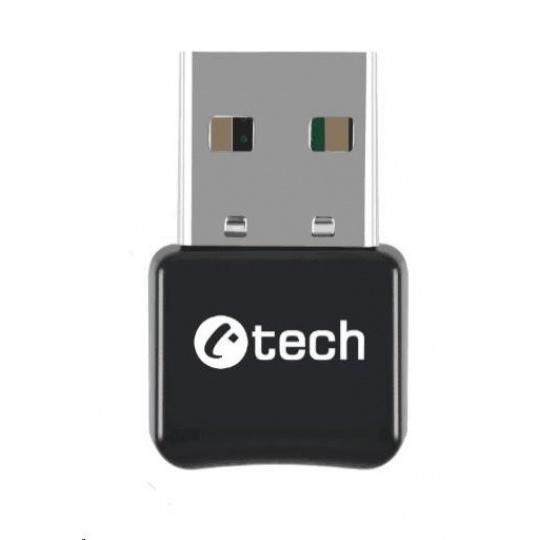 C-TECH Bluetooth adaptér BTD-01, v 5.0, USB mini dongle