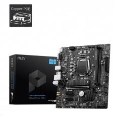 MSI MB Sc LGA1200 B560M-A PRO, Intel B560, 2xDDR4, 1xHDMI, VGA, mATX