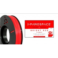 FILAMENT Panospace type: PLA -- 1,75mm, 1000 gram per roll - Červená