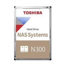 "TOSHIBA HDD N300 NAS 8TB, SATA III, 7200 rpm, 256MB cache, 3,5"", BULK"