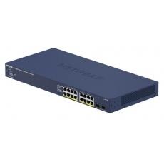Netgear GS716TP 16-Port Gigabit PoE+ Smart Managed Switch, 2x SFP, PoE 180W