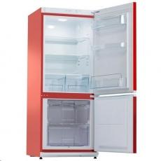 SNAIGE RF27SM P1RA22 červená chladnička kombinovaná