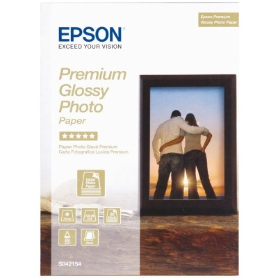 EPSON Paper Premium Glossy Photo 13x18 (30 sheet), 255g/m2
