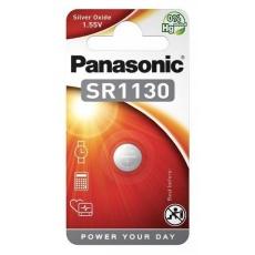 PANASONIC Stříbrooxidové - hodinkové baterie SR-1130EL/1B 1,55V (Blistr 1ks)