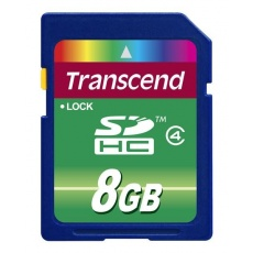 TRANSCEND SDHC karta 8GB Class 4