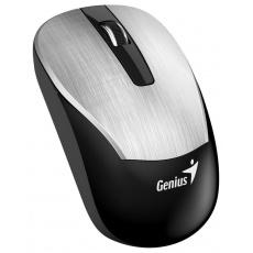 GENIUS myš GENIUS ECO-8015/ 1600 dpi/ dobíjecí/ bezdrátová/ stříbrná