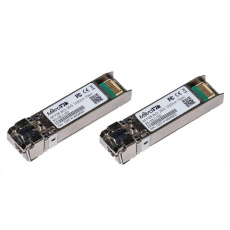 MikroTik SFP28 pár optických modulů XS+2733LC15D, SM, 15km, 1/10/25G, 15km, 1xLC