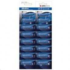 AgfaPhoto Power alkalická baterie LR03/AAA, blistr 16ks