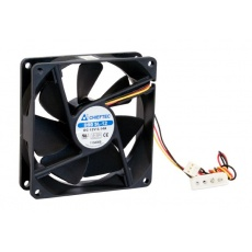 CHIEFTEC větrák AF-0925S, 92x92x25 mm Sleeve Fan, with 3/4pin connector
