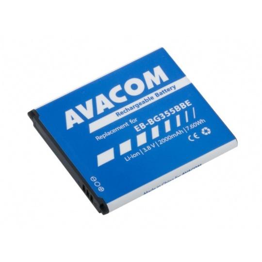 AVACOM baterie do mobilu Samsung Core 2 Li-Ion 3,8V 2000mAh, (náhrada EB-BG355BBE)