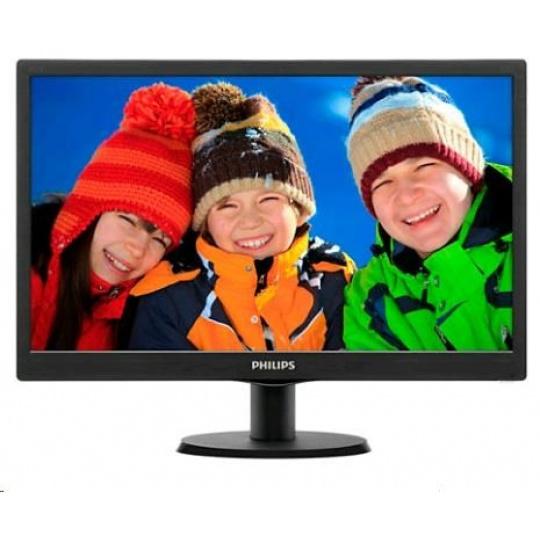 """Philips MT LED 19,5"""" 203V5LSB26/10 - 1600x900, 5ms, 10M:1, 200cd/m2, D-Sub"""