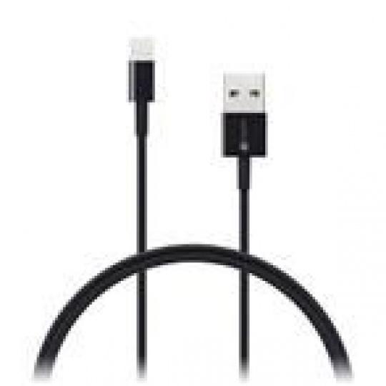 CONNECT IT Wirez Apple Lightning -> USB-A, černý, 0,5 m