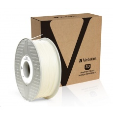 VERBATIM 3D Printer Filament ABS 1.75mm, 404m, 1kg transparent