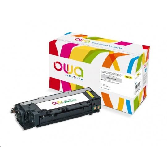 OWA Armor toner pro HP Color Laserjet 3500, 3550, 3700, 6000 Stran, Q2682A, žlutá/yellow