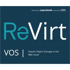 ReVirt VOS   Veeam Object Storage (100GB/1M)
