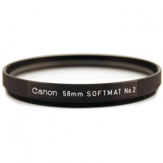 Canon filtr 52 mm SOFTMAT No.2 (změkčující filtr)
