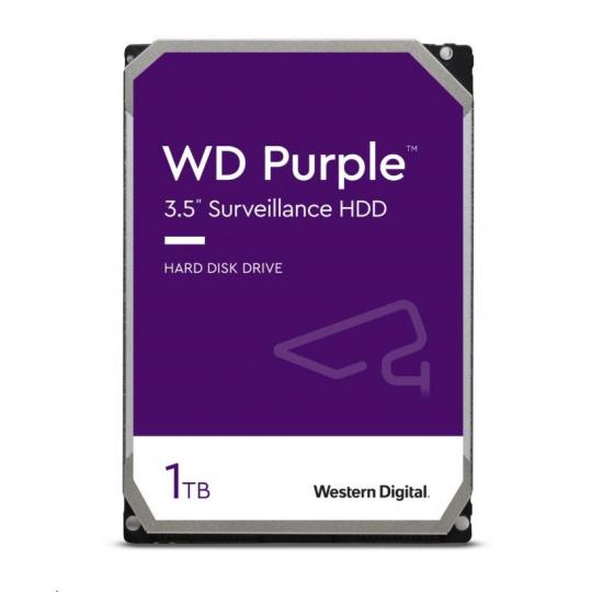 WD PURPLE WD10PURZ 1TB SATA/600 64MB cache, Low Noise