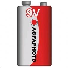 AgfaPhoto zinková baterie 9V, shrink 1ks