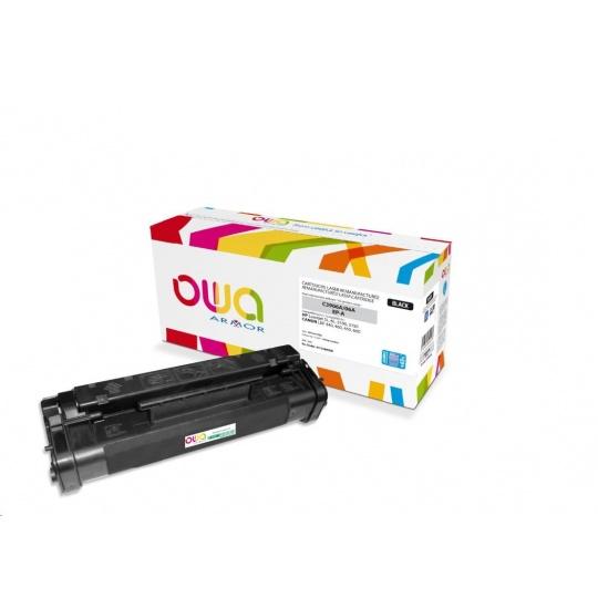 OWA Armor toner pro HP Laserjet 5L, 6L, 3100, 3150, 4200 Stran, C3906A JUMBO, černá/black