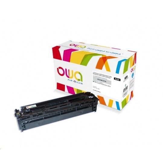 OWA Armor toner pro HP Color Laserjet Pro 200 M251, M276, 1600 Stran, CF210A, černá/black