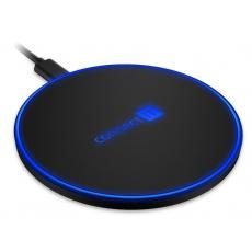 CONNECT IT bezdrátová nabíječka WiFast, 10 W, černá