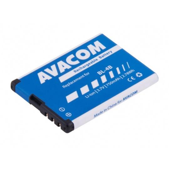 AVACOM baterie do mobilu Nokia 6111 Li-Ion 3,7V 750mAh (náhrada BL-4B)