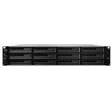 Synology RS3617RPxs RackStation (4C/XeonD-1521/2,4-2,7GHz/8GBRAM/12xSATA/2xUSB3.0/4xGbE/2xPCIe/RP)