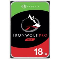 """SEAGATE HDD IRONWOLF PRO (NAS) 3,5"""" - 18TB, SATAIII, ST18000NE000"""
