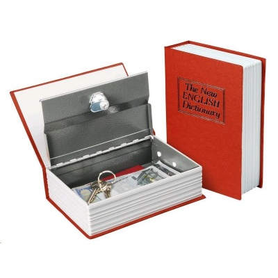 Extol Craft schránka bezpečnostní - knížka, 180×115×54mm  99016