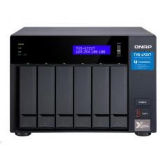 QNAP TVS-672XT-i5-8G (6C/3,3GHz/8GBRAM/6xSATA/2xM.2/2xGbE/1x10GbE/1xUSB3.0/4xUSB3.1/2xPCIe/1xHDMI)
