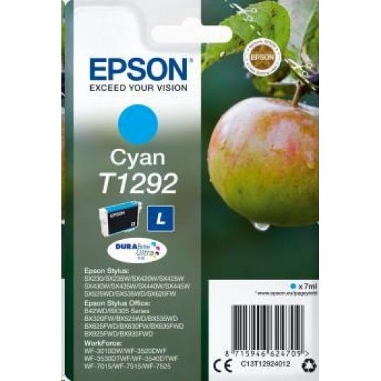 "EPSON ink bar Singlepack ""Jablko"" Cyan T1292 DURABrite Ultra Ink (7 ml)"