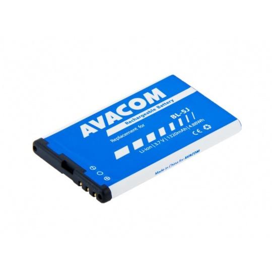 AVACOM baterie do mobilu Nokia 5230, 5800, X6 Li-Ion 3,7V 1320mAh (náhrada BL-5J)