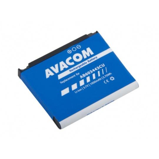 AVACOM baterie do mobilu Samsung SGH-G800, S5230 Li-Ion 3,7V 1000mAh (náhrada AB603443CU)