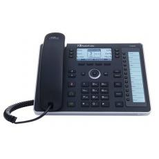 AudioCodes IP telefon 440HD, grafický displej, 10/100/1000 Mbps, PoE, černá